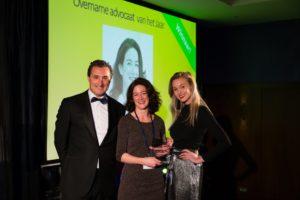 S+DL Award overname advocaat van het jaar Brookz